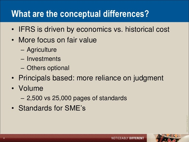 ifrs vs gaap standards There are two sets of accounting standards that are used worldwide one is the international financial reporting standards (ifrs) and the us generally accepted accounting principles.