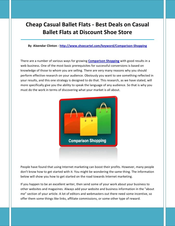 Cheap Casual Ballet Flats - Best Deals on Casual        Ballet Flats at Discount Shoe Store_______________________________...
