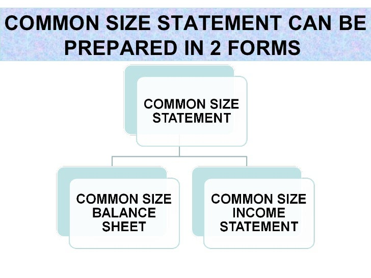 32 Common Size Financial Statements How To Compare Balance Sheets From Different CompaniesA Company Statement That Displays All Items As