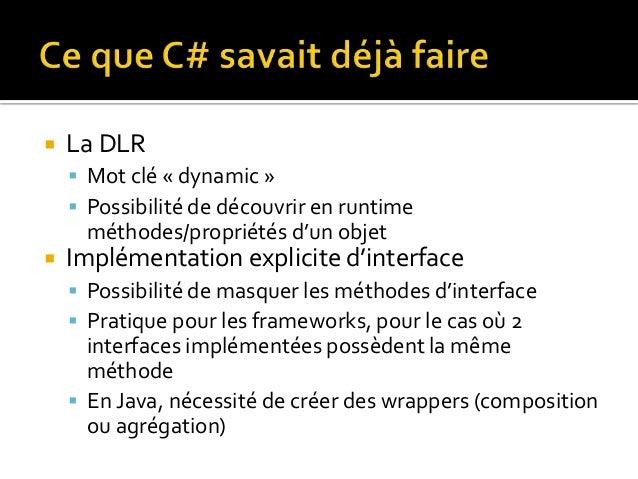 C 5 Versus Java 8 Quand C 11 S Invite A La Fete