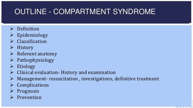compartment syndromes styf jorma