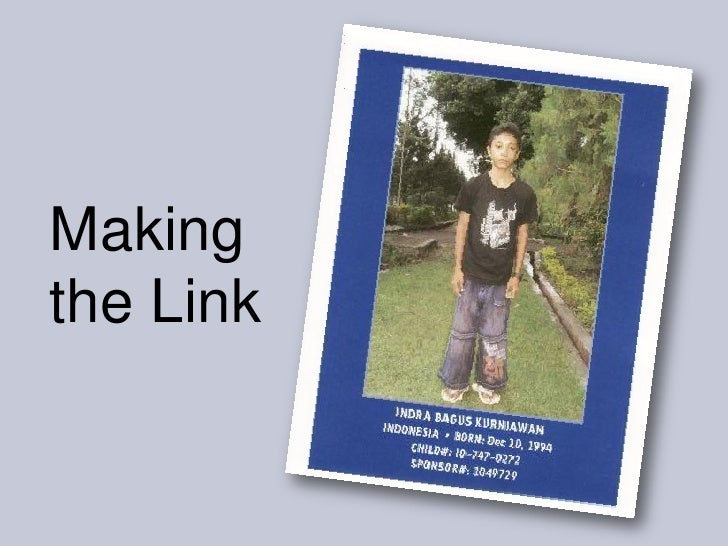 Making the Link