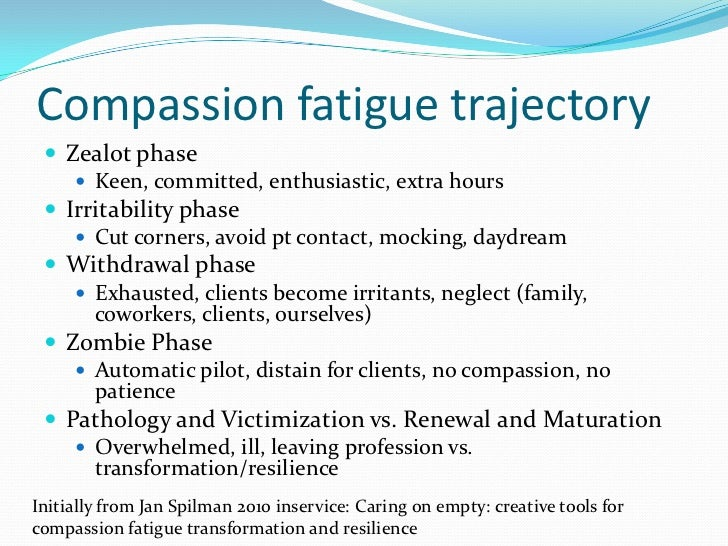 compassion fatigue group a