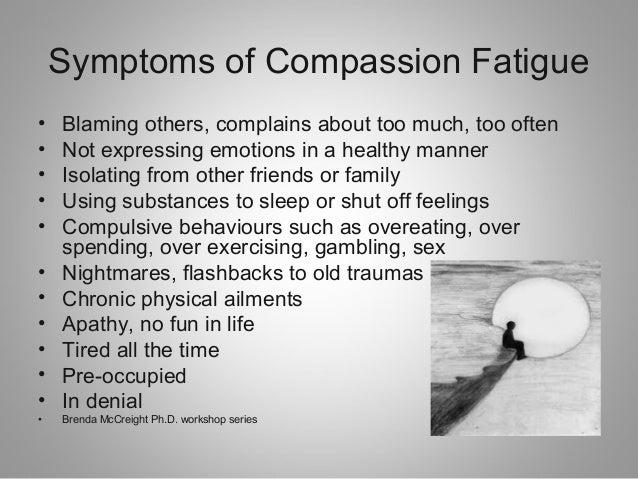 Recognizing Compassion Fatigue