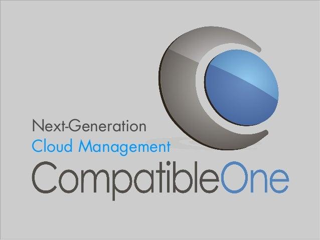 Next-GenerationCloud Management