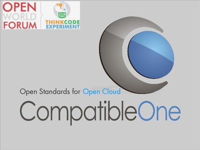 Open Standards for Open Cloud