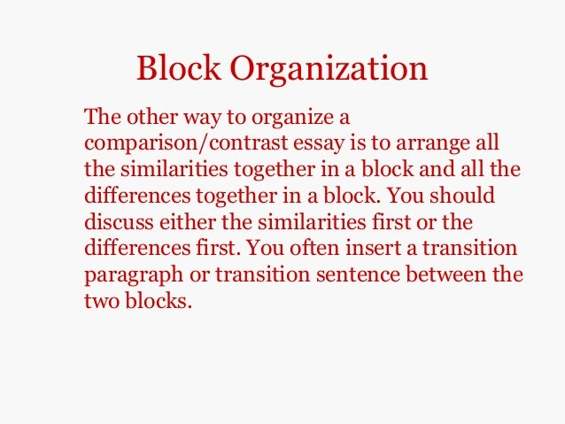 comparison contrast essays conclusion 10