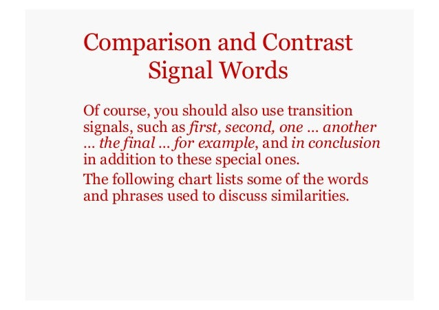 comparison contrast essays self study version  16