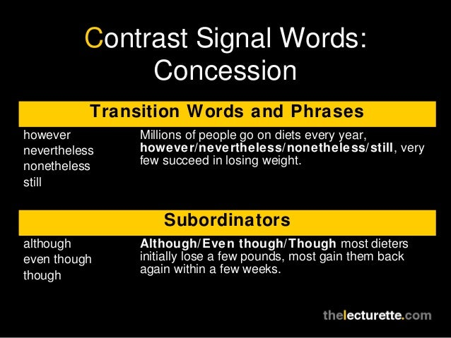 good transition words compare contrast essay First of all to display unlikeness on comparison with something else structure a contrast phonetics the purpose of transition words phrases in a essay that carry an idea starting with one sentence then onto the next, starting with one thought t.