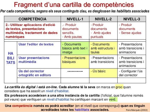 orientacions per integrar lesv compet u00e8ncies digitalsv val