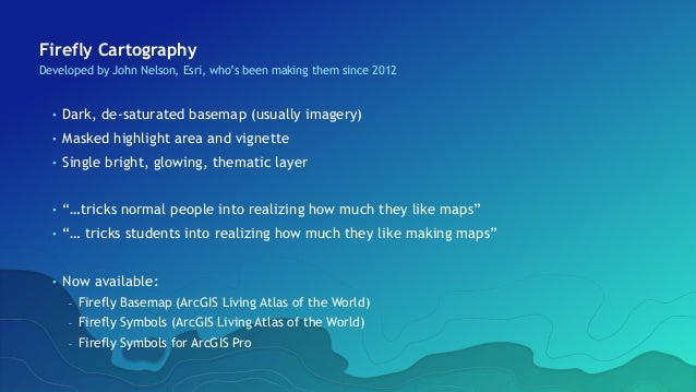 Compelling Cartography with ArcGIS
