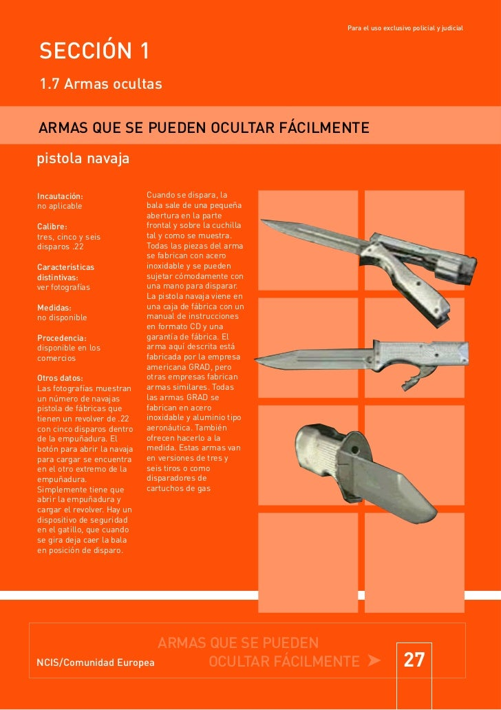 Compendio De Armas Disimuladas