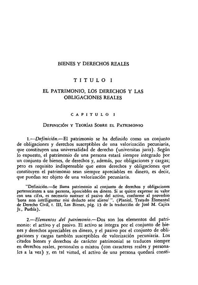 Compendio de derecho civil tomo II - bienes, derechos
