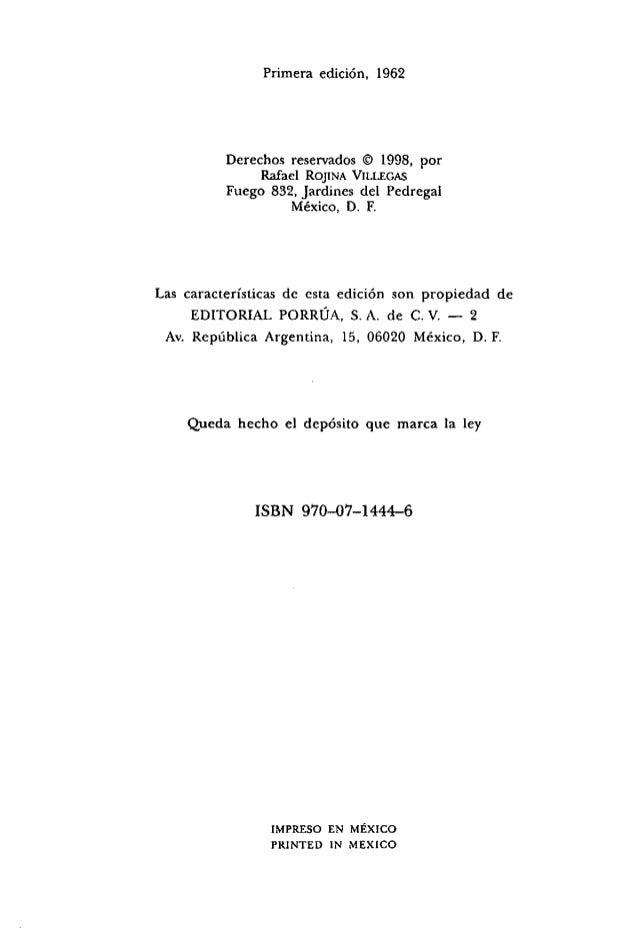 Compendio de derecho civil   tomo III - teoría general de las obligaciones - rojina villegas Slide 2