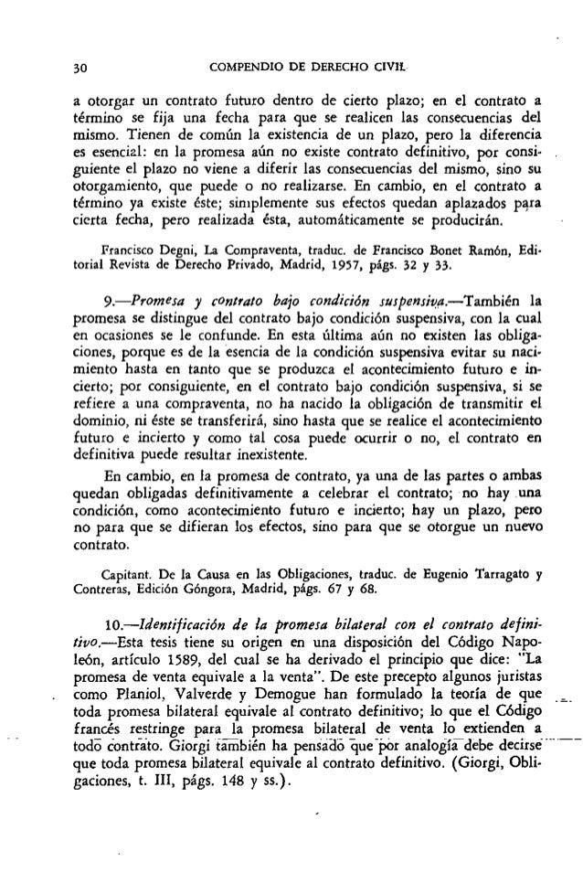 Compendio de derecho civil tomo iv contratos rojina for Como se dice mesa en frances