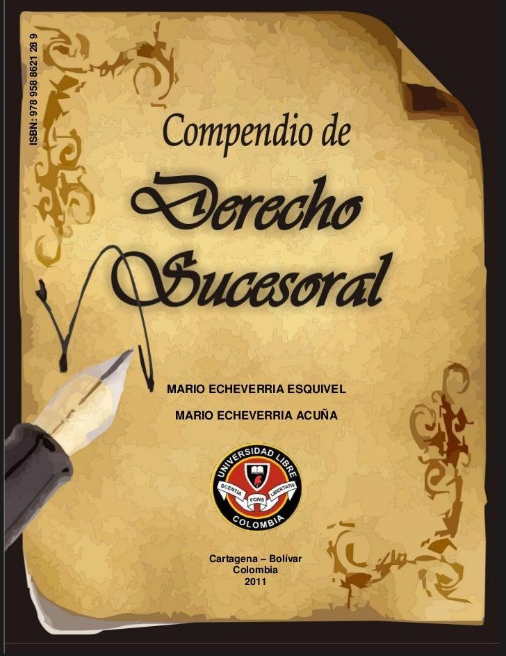 ISBN: 978 958 8621 28 9                          MARIO ECHEVERRIA ESQUIVEL                           MARIO ECHEVERRIA ACUÑ...