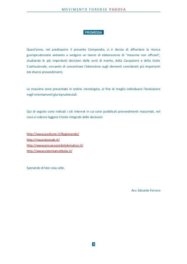 Breve Compendio Giurisprudenziale del Processo Telematico - Anno 2016 Slide 3