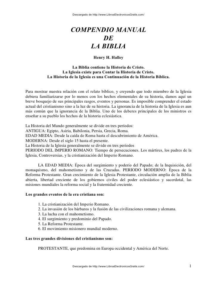 Descargado de http://www.LibrosElectronicosGratis.com/                            COMPENDIO MANUAL                        ...
