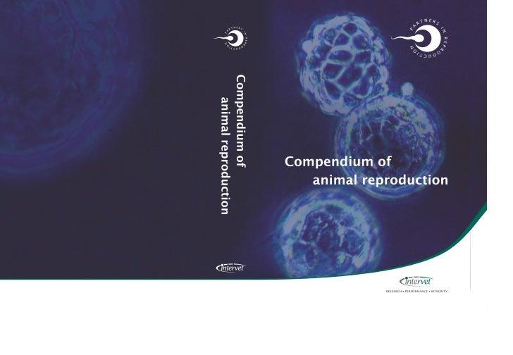 Compendium ofAnimal Reproduction
