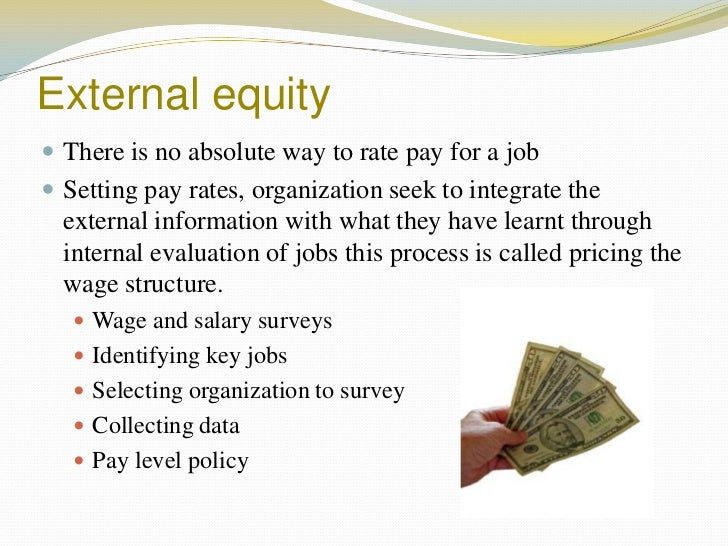 internal and external equity in compensation system pdf