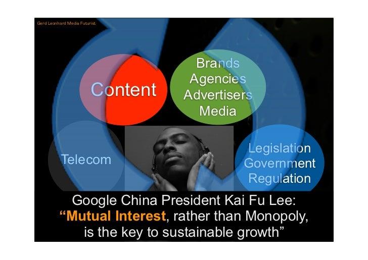 Gerd Leonhard Media Futurist                                          Brands                                     Agencies ...