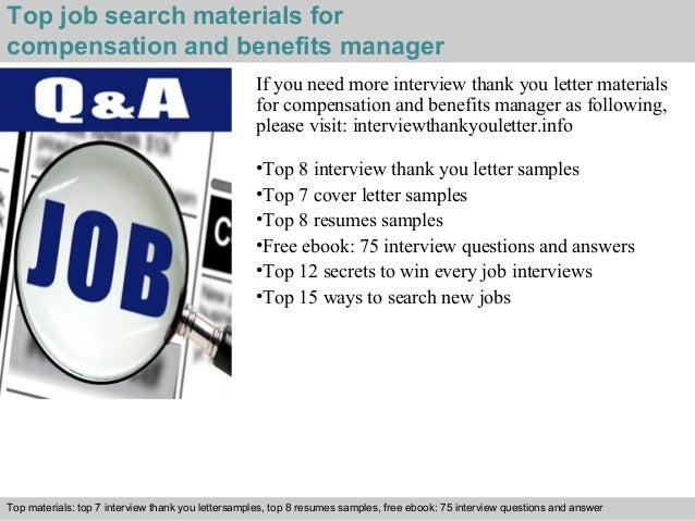 5 top job search materials for compensation and benefits