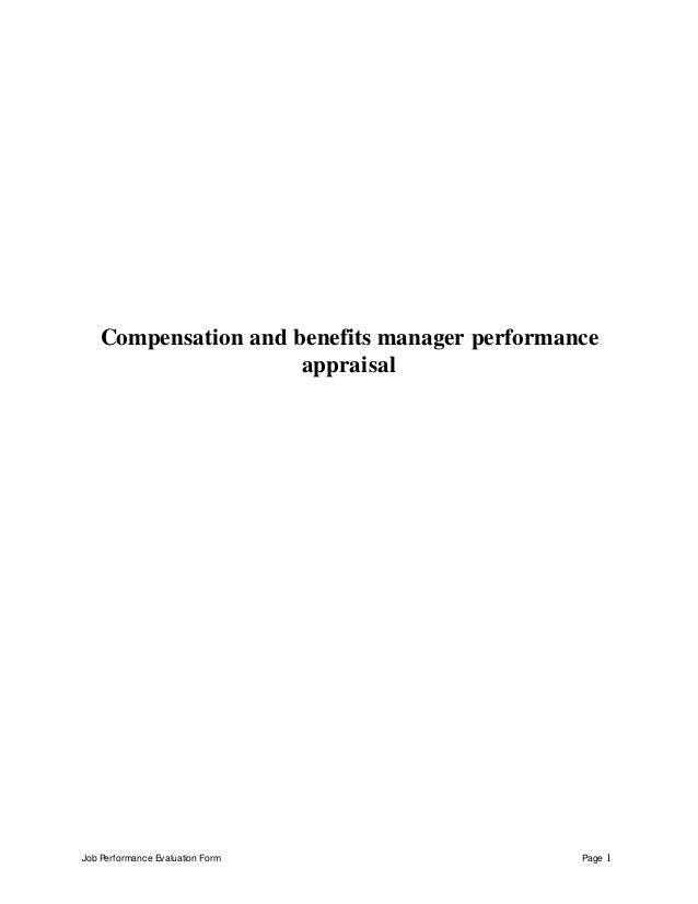 manager evaluation form - Dolap.magnetband.co