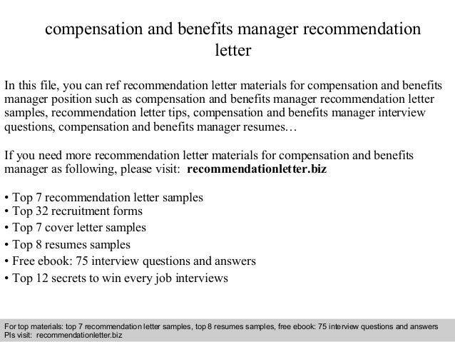 Resume-samples-manager-resumes-compensation-and-benefits-manager ...