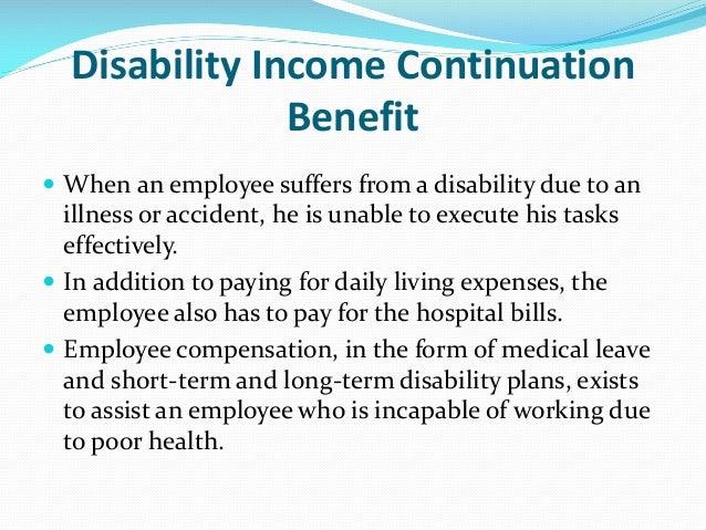 Compensation dimensions - Short term disability plan design ...