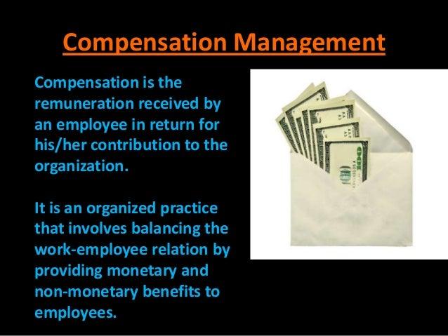 Compensation Management Slide 2