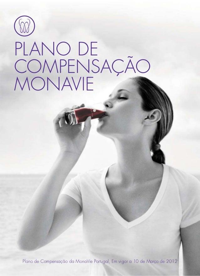 PLANO DECOMPENSAÇÃOMONAVIEPlano de Compensação da MonaVie Portugal, Em vigor a 10 de Março de 2012