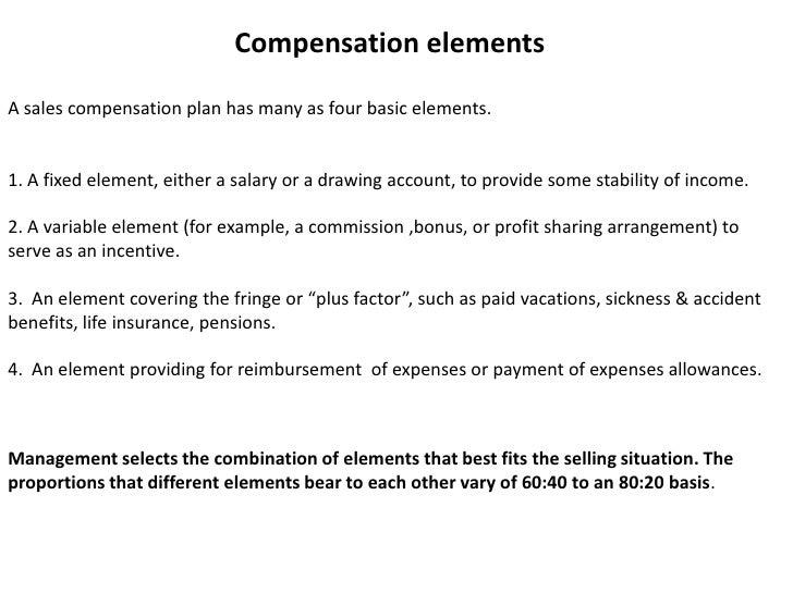 Compensation ...