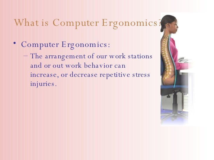 computr ergonomics
