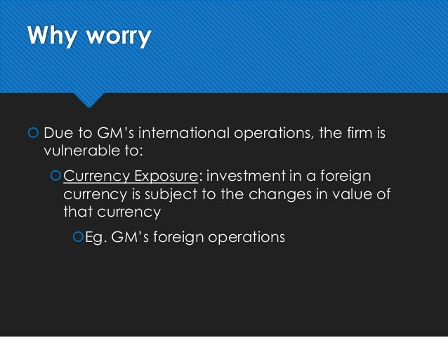 gm hedging strategies yen Question case questions - fx hedging strategies at gm: competitive (operating) exposures 1 why is gm worried about the value of the yen what types of currency exposures does gm face.