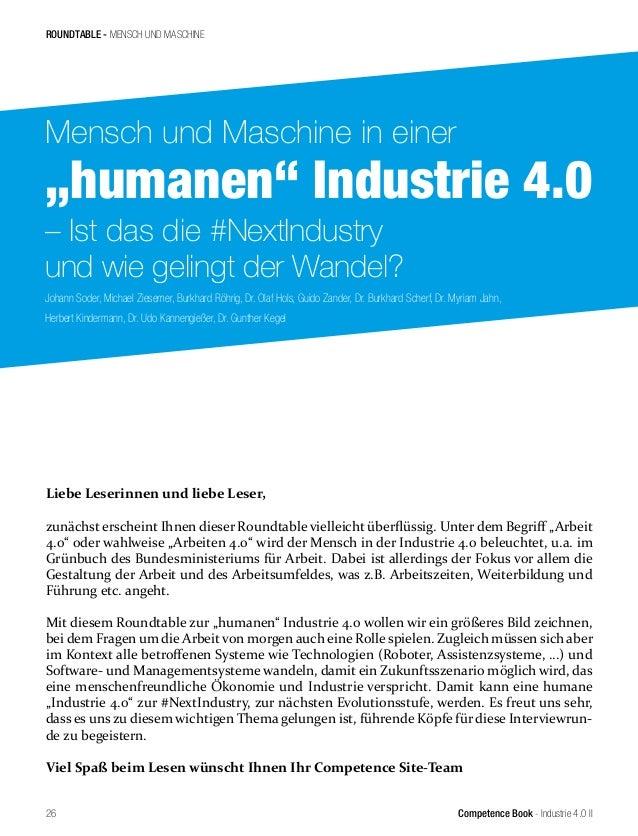 Competence Book - Industrie 4.0 II Johann Soder, Michael Ziesemer, Burkhard Röhrig, Dr. Olaf Hols, Guido Zander, Dr. Burkh...