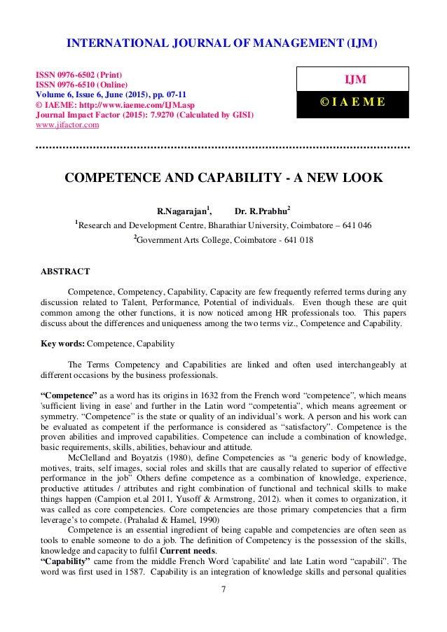 the international journal of business managementissn