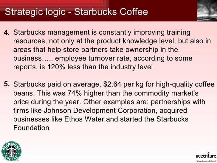 strategic management at starbucks