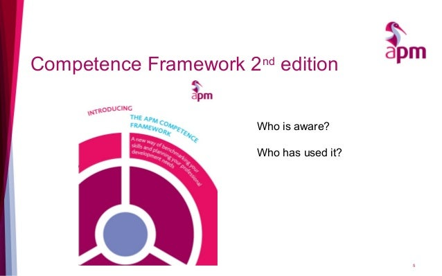 Competence Framework 2nd edition 5 Who is aware? Who has used it?