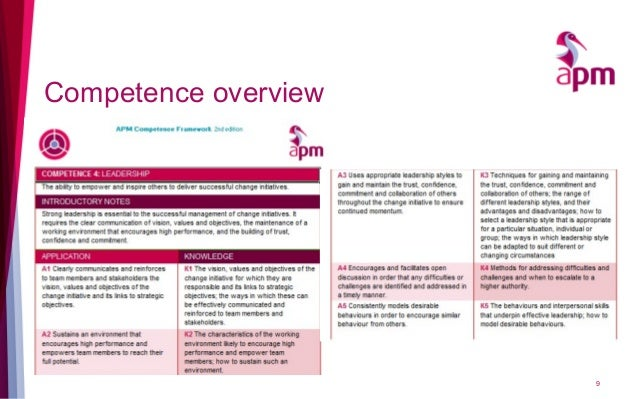 Competence overview 9
