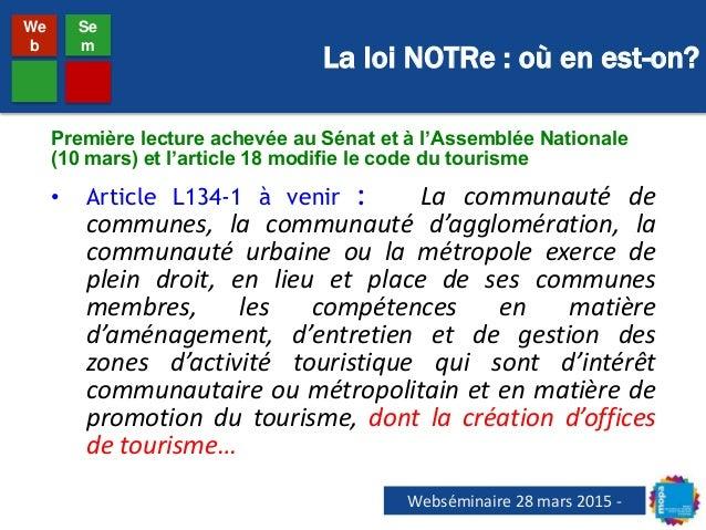 Webs minaire mopa comp tence tourisme et formes - Office de tourisme et des congres de paris ...