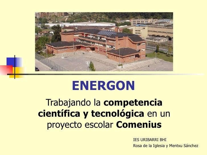 Competencia científica energon