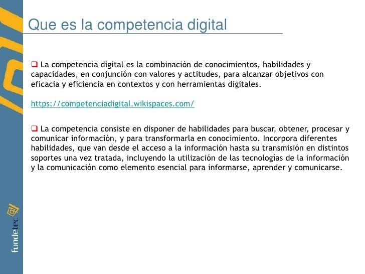 """Datos sobre """"Competencia Digital""""<br /><ul><li>Solo el 11% de los europeos de entre 16-24 años no ha tenido contacto con i..."""