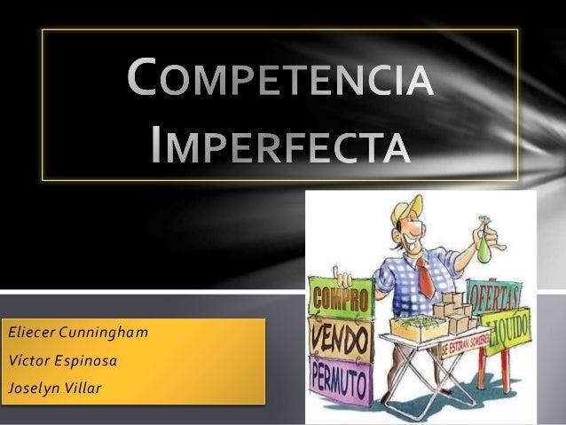 competencia imperfecta