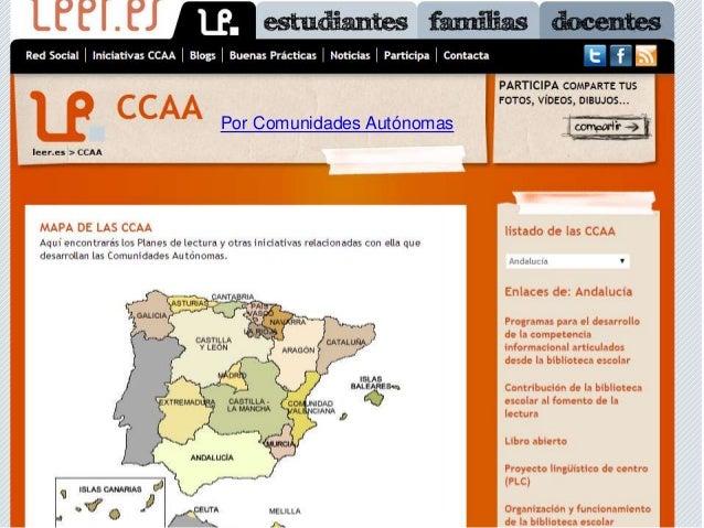 Por Comunidades Autónomas