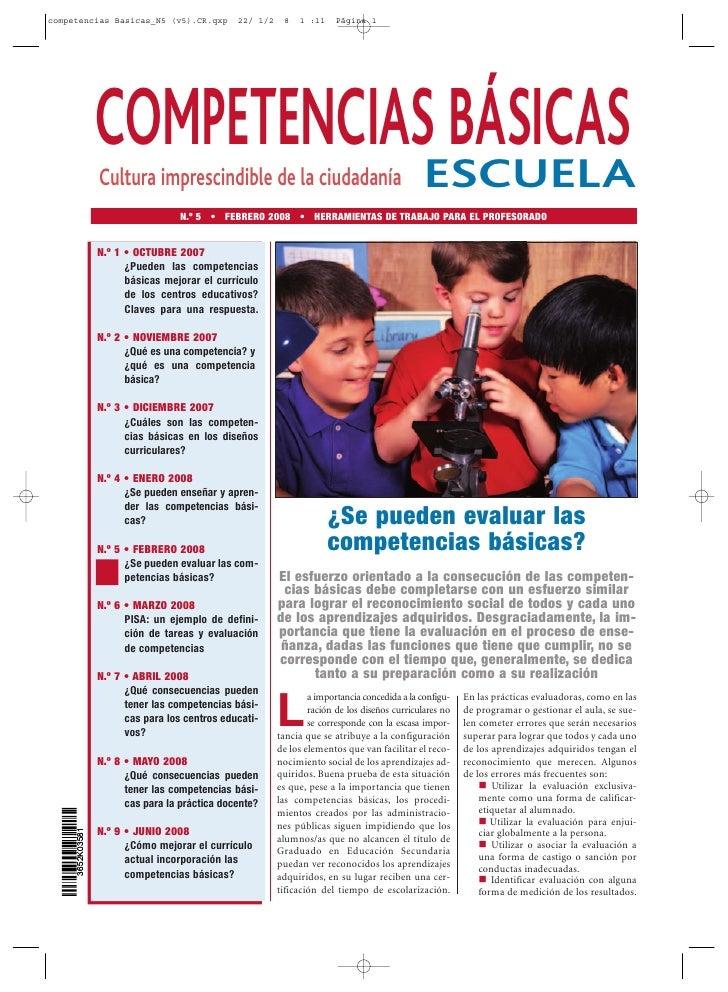 competencias Basicas_N5 (v5).CR.qxp             22/ 1/2    8   1 :11     Página 1                       COMPETENCIASESCUEL...