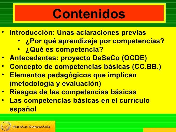 Competencias Básicas: Concepto y características  Slide 2