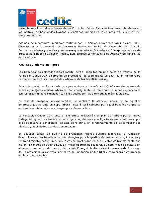 Competencias Chile Informe Inicial Ceduc Ucn