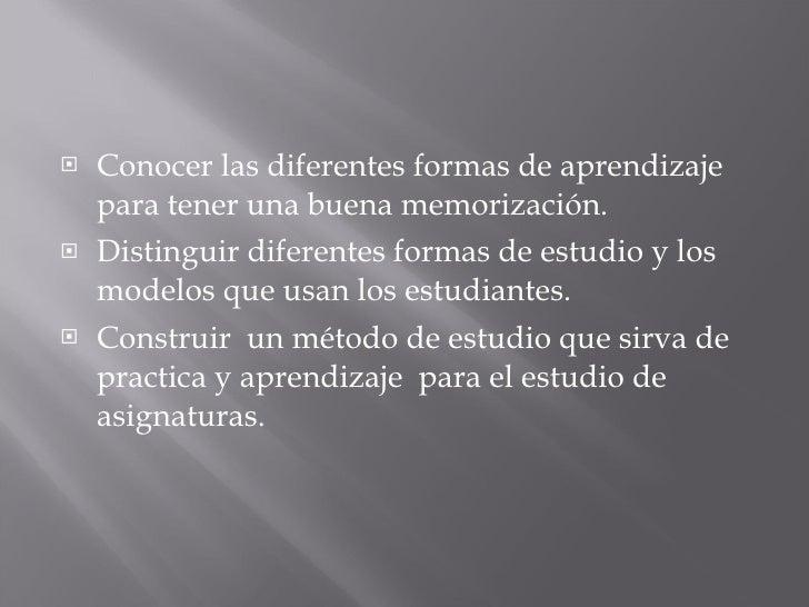METODOD DE ESTUDIO Slide 3