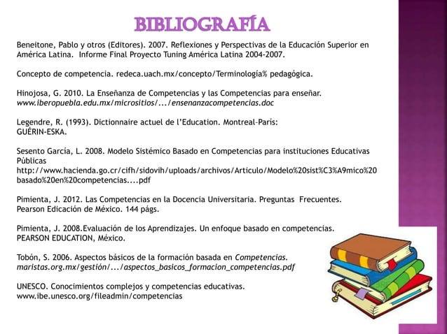Beneitone, Pablo y otros (Editores). 2007. Reflexiones y Perspectivas de la Educación Superior en América Latina. Informe ...