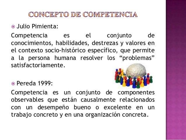 Competencias, conceptos, tipos de competencias Slide 3